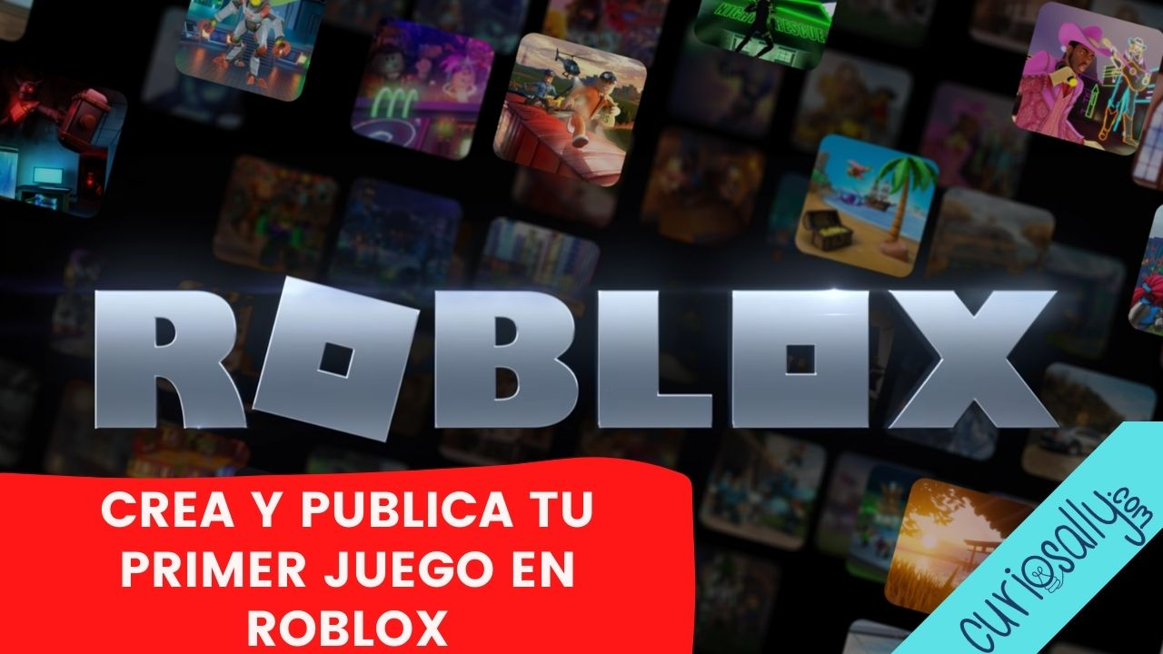 ¡CREA TU PRIMER VIDEOJUEGO EN ROBLOX! - Reta a tus amigos