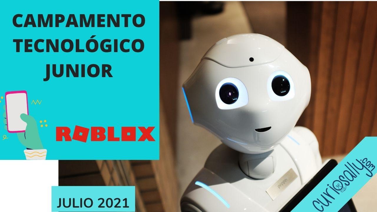 CAMPAMENTO TECNOLÓGICO  JUNIOR (VIRTUAL - VERANO 2021)
