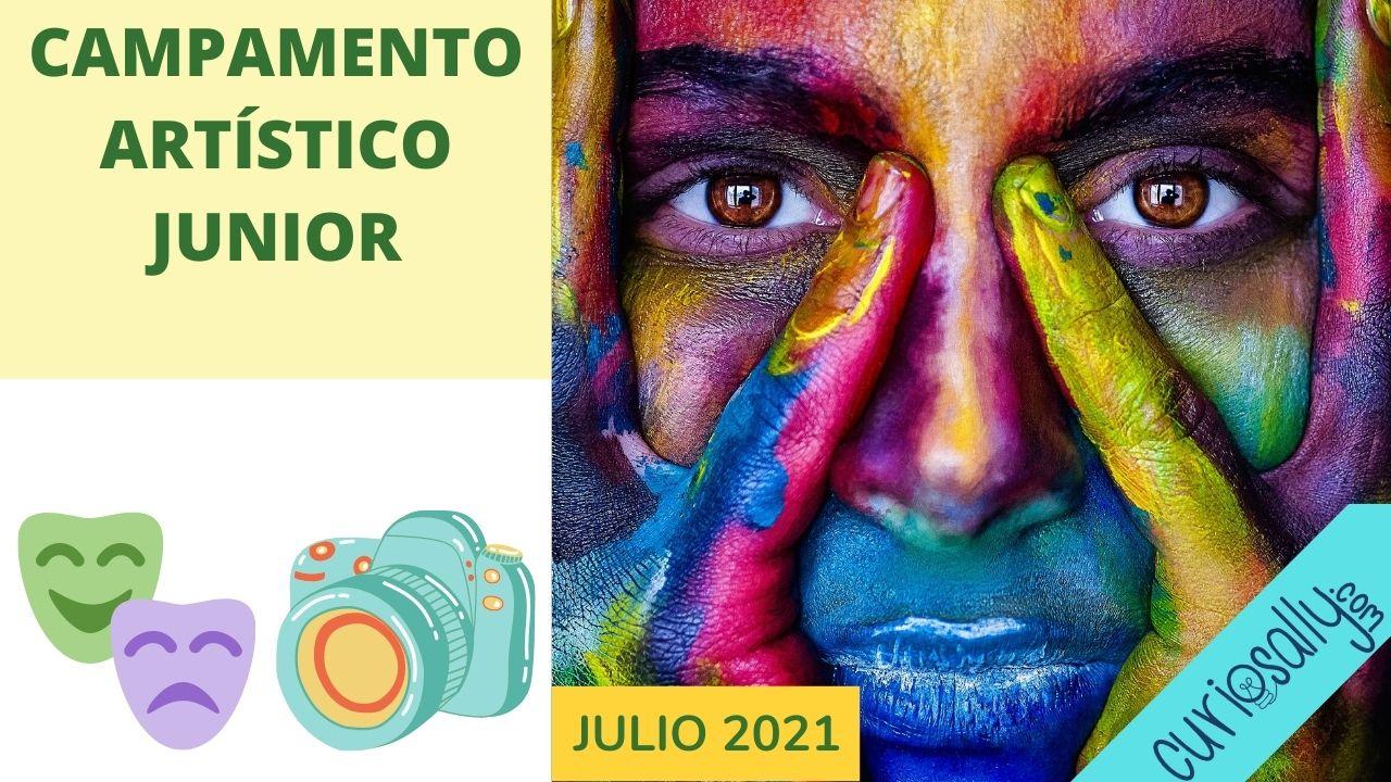 CAMPAMENTO  ARTÍSTICO JUNIOR  (VIRTUAL - VERANO  2021)
